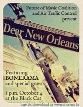Dear New Orleans benefit concert