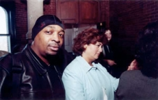 Chuck D and Hilary Rosen at first FMC Policy Summit